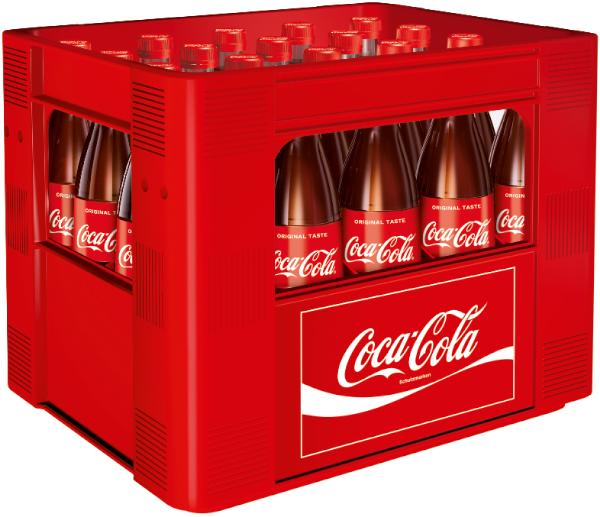 Coca Cola 20x0,5l Mehrweg Glas
