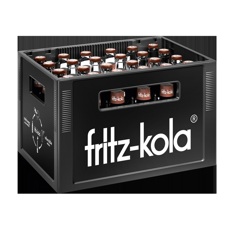 Fritz Kola Karamell Kaffee 24x0,33l Mehrweg Glas