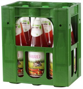 Beckers Rharbarber 6x1,0l Mehrweg Glas