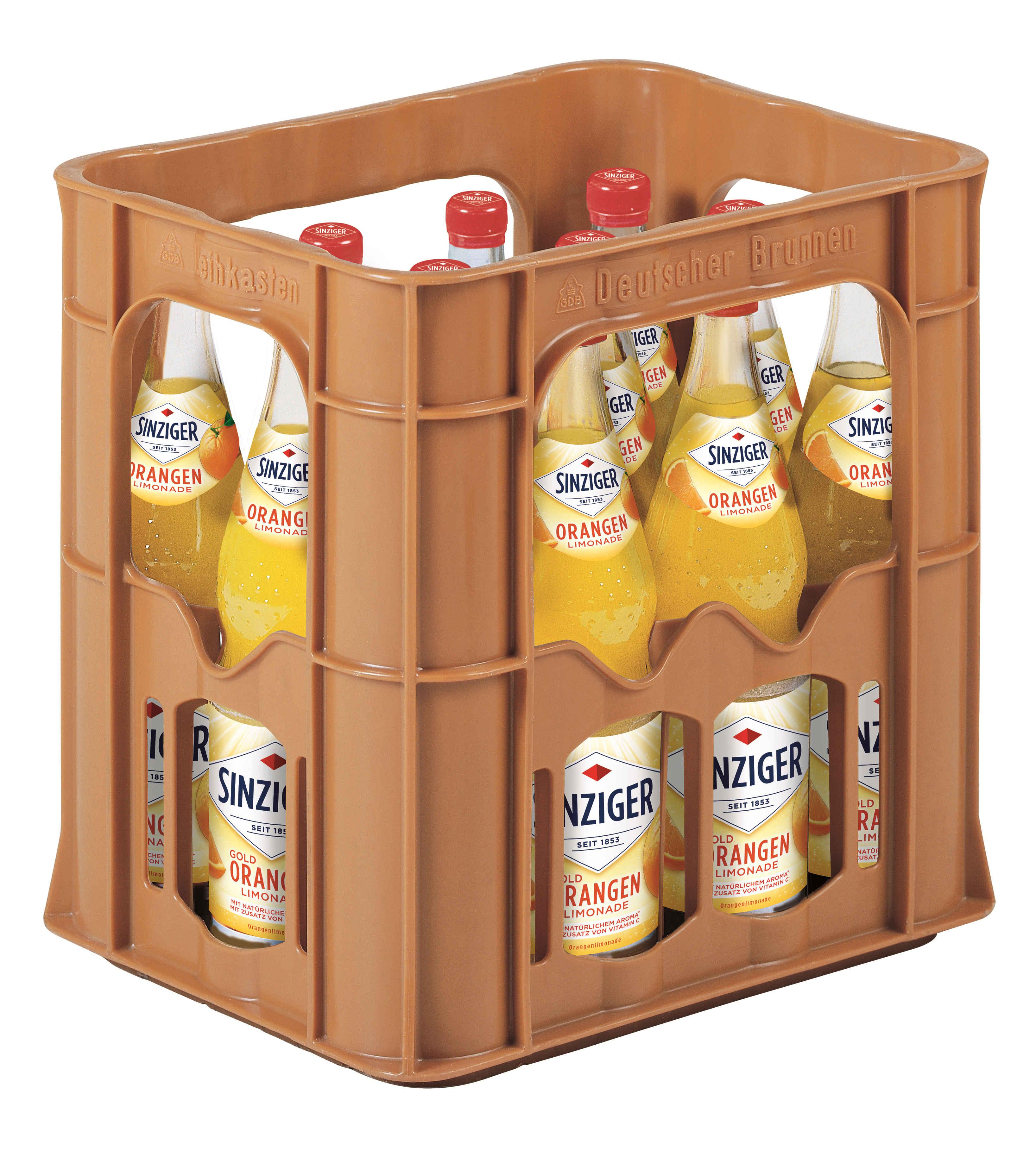 Sinziger Limonade Orange 12x0,7l Mehrweg Glas