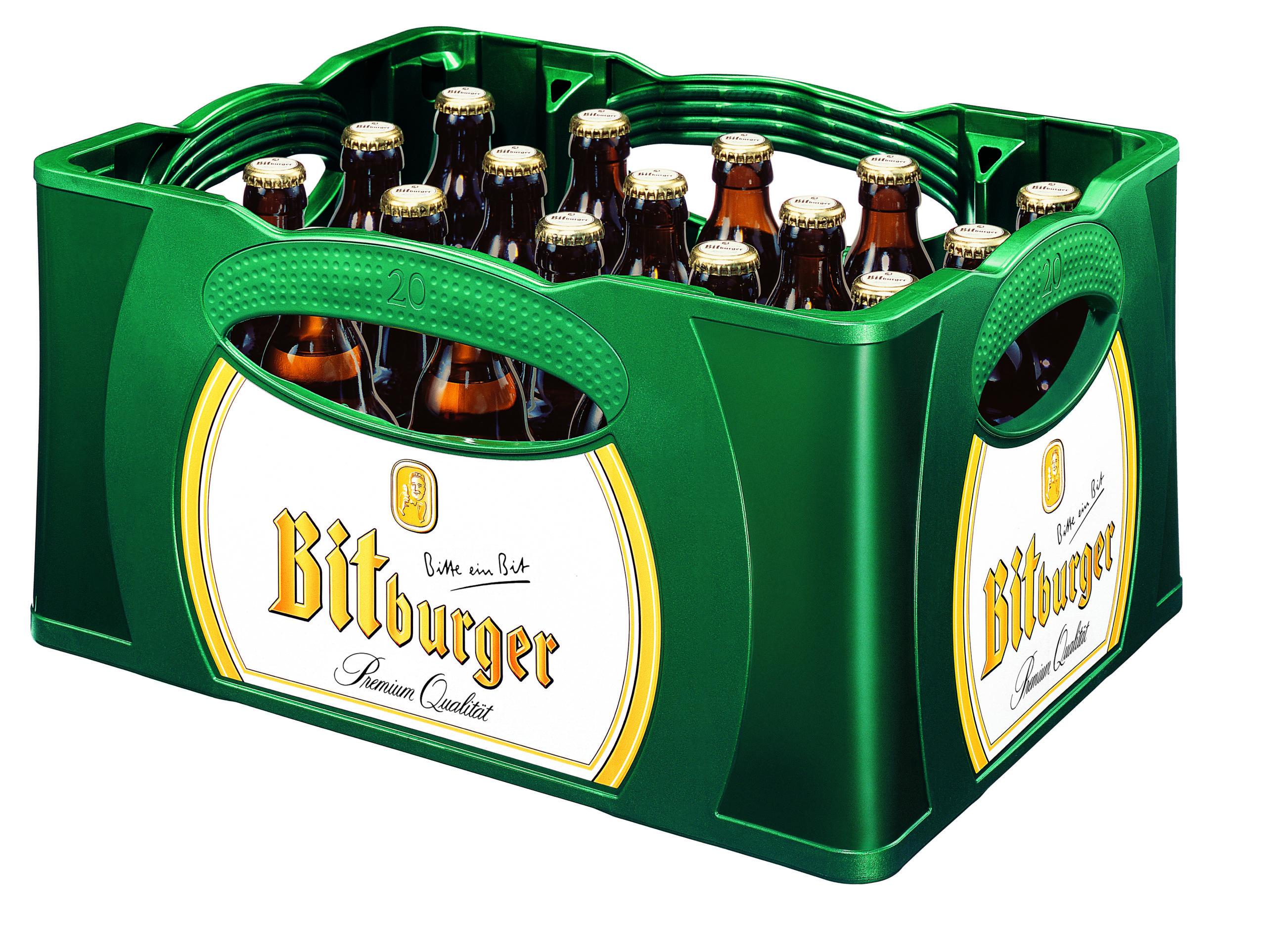 Bitburger Stubbi 20x0,33l Mehrweg Glas