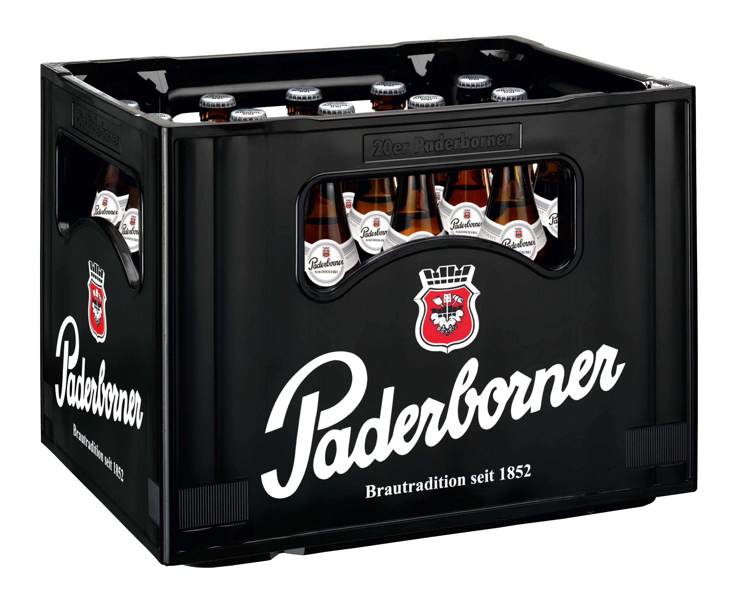 Paderborner Alkoholfrei 20x0,5l Mehrweg Glas
