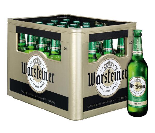 Warsteiner Herb 20x0,5l Mehrweg Glas