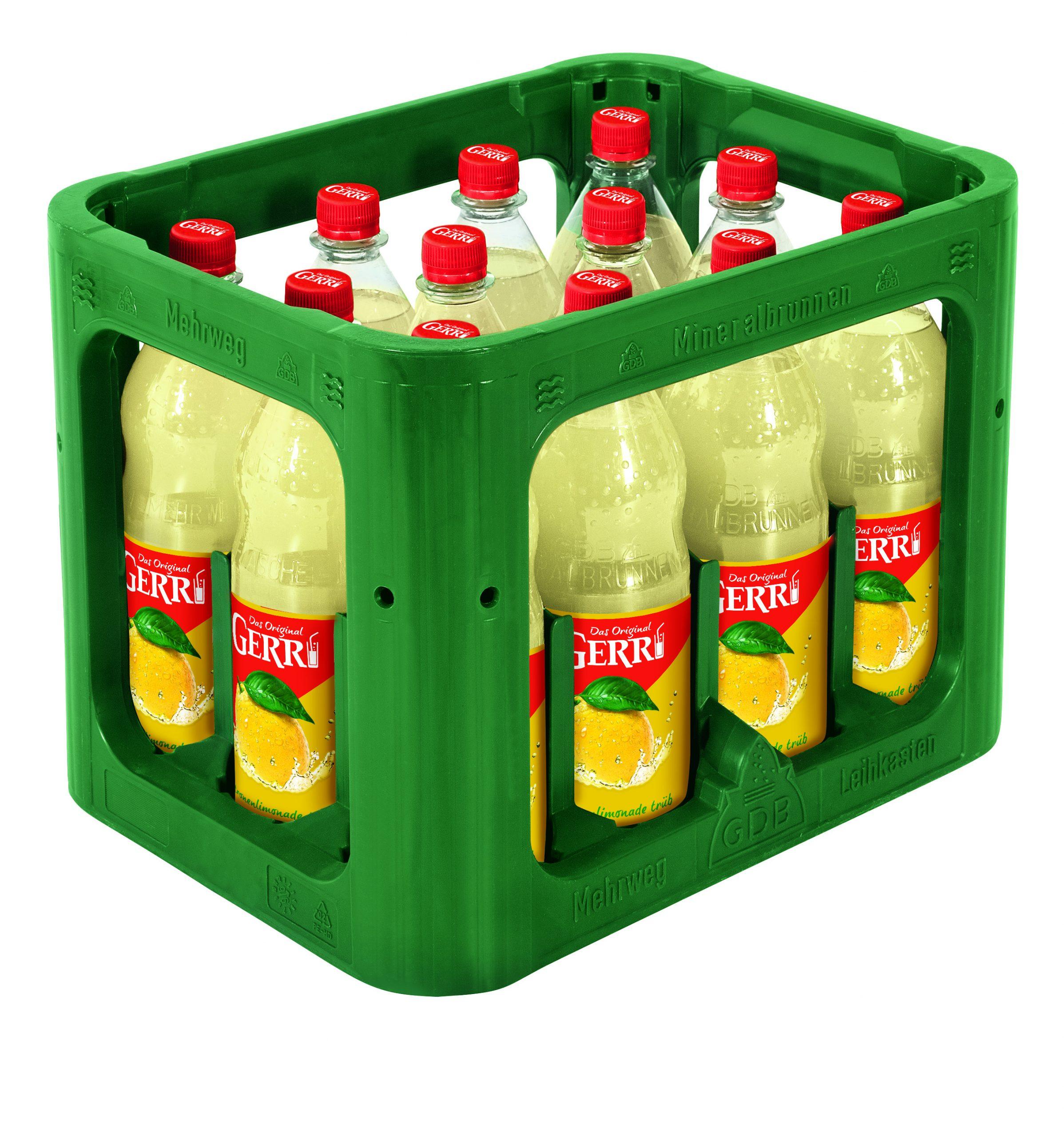 Gerri Limonade Zitrone trüb 12x1,0l Mehrweg PET