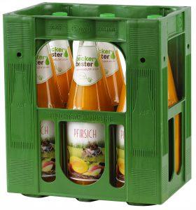 Beckers Pfirsich 6x1,0l Mehrweg Glas