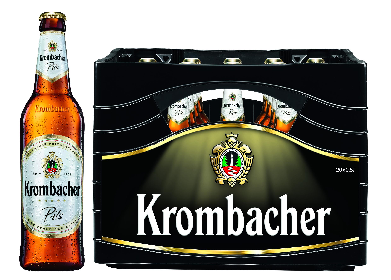 Krombacher Pils 20x0,5l Mehrweg Glas