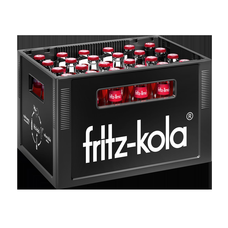 Fritz Limo Apfel Kirsch Holunder 24x0,33l Mehrweg Glas