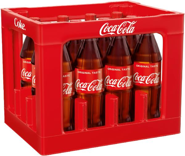 Coca Cola 12x1l Mehrweg PET