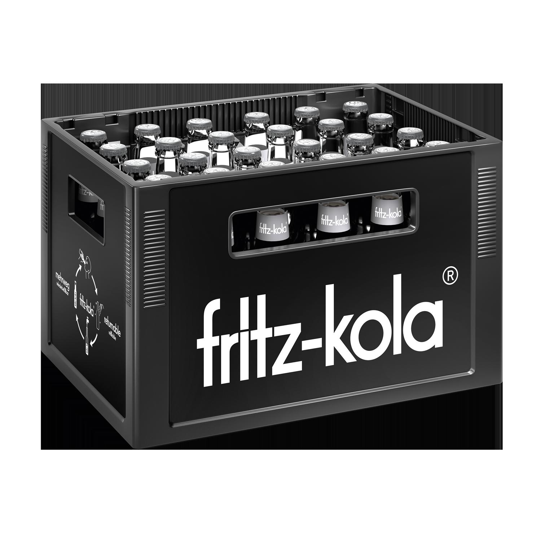 Fritz Kola weniger Zucker 24x0,33l Mehrweg Glas