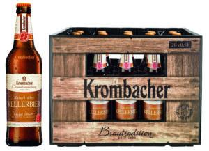 Krombacher Kellerbier 20x0,5l Mehrweg Glas