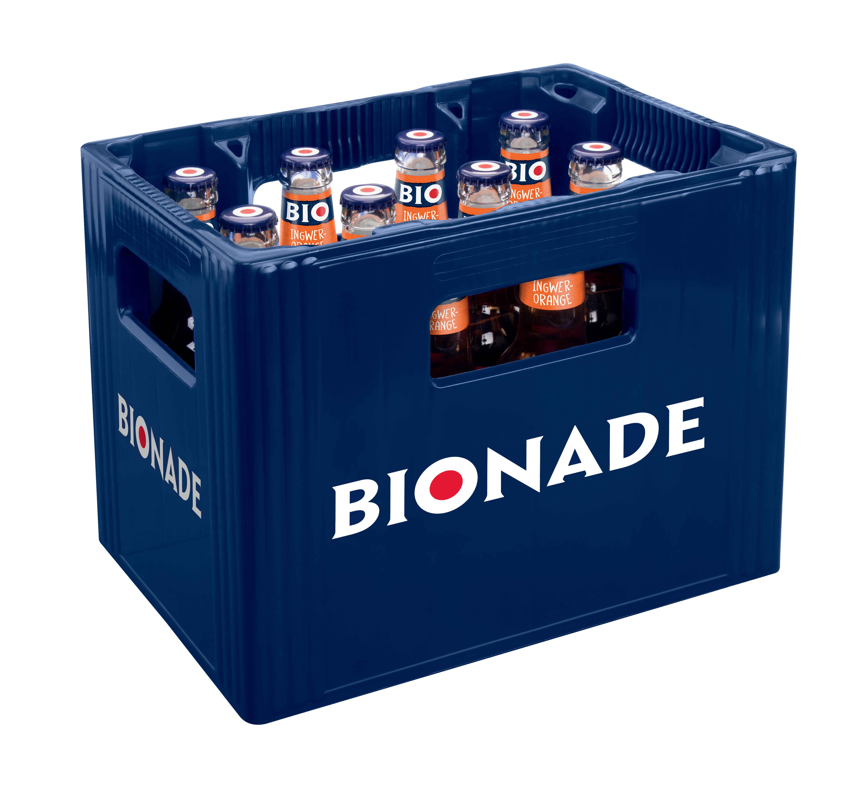 Bionade Ingwer-Orange 12x0,33l Mehrweg Glas