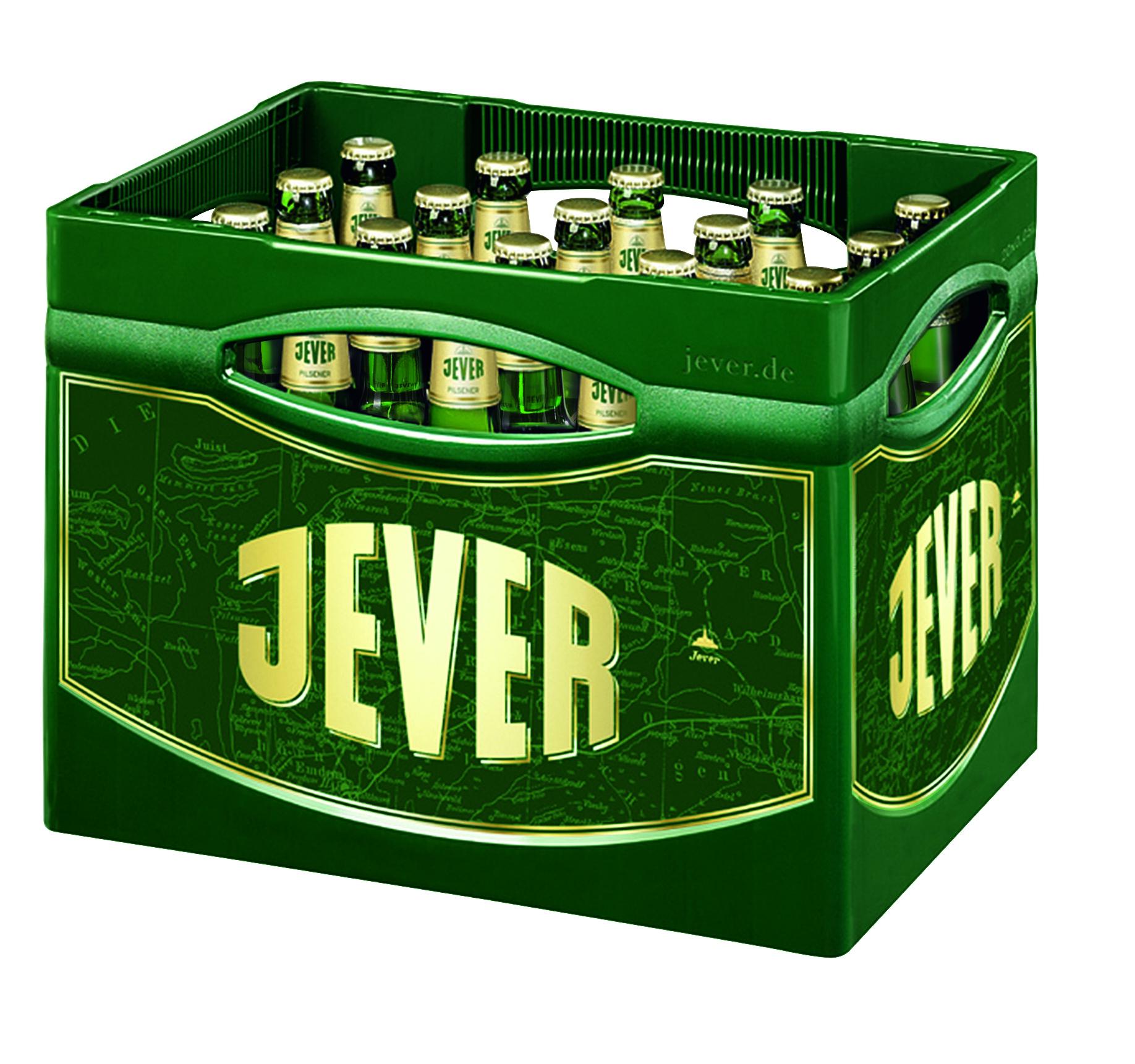 Jever Pilsener 20x0,5l Mehrweg Glas