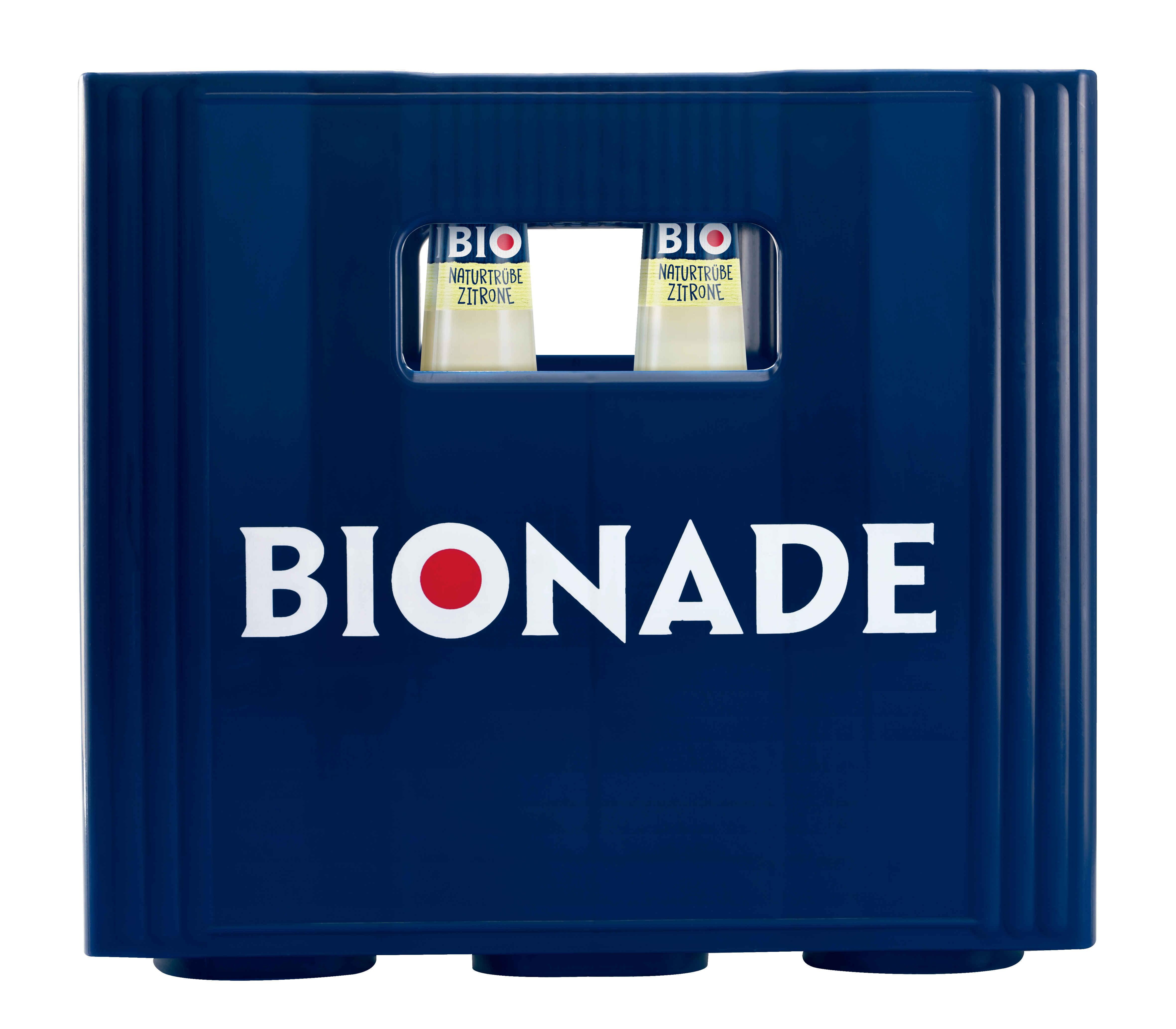 Bionade Naturtrübe Zitrone 12x0,33l Mehrweg Glas