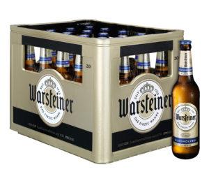 Warsteiner Pils Alkoholfrei 20x0,5l Mehrweg Glas