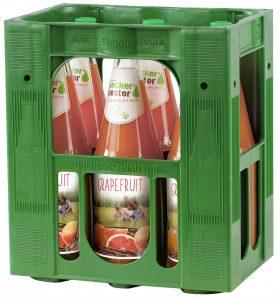 Beckers Grapefruitsaft 6x1,0l Mehrweg Glas