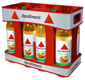 Apollinaris Big Apple 10x1,0l Mehrweg PET