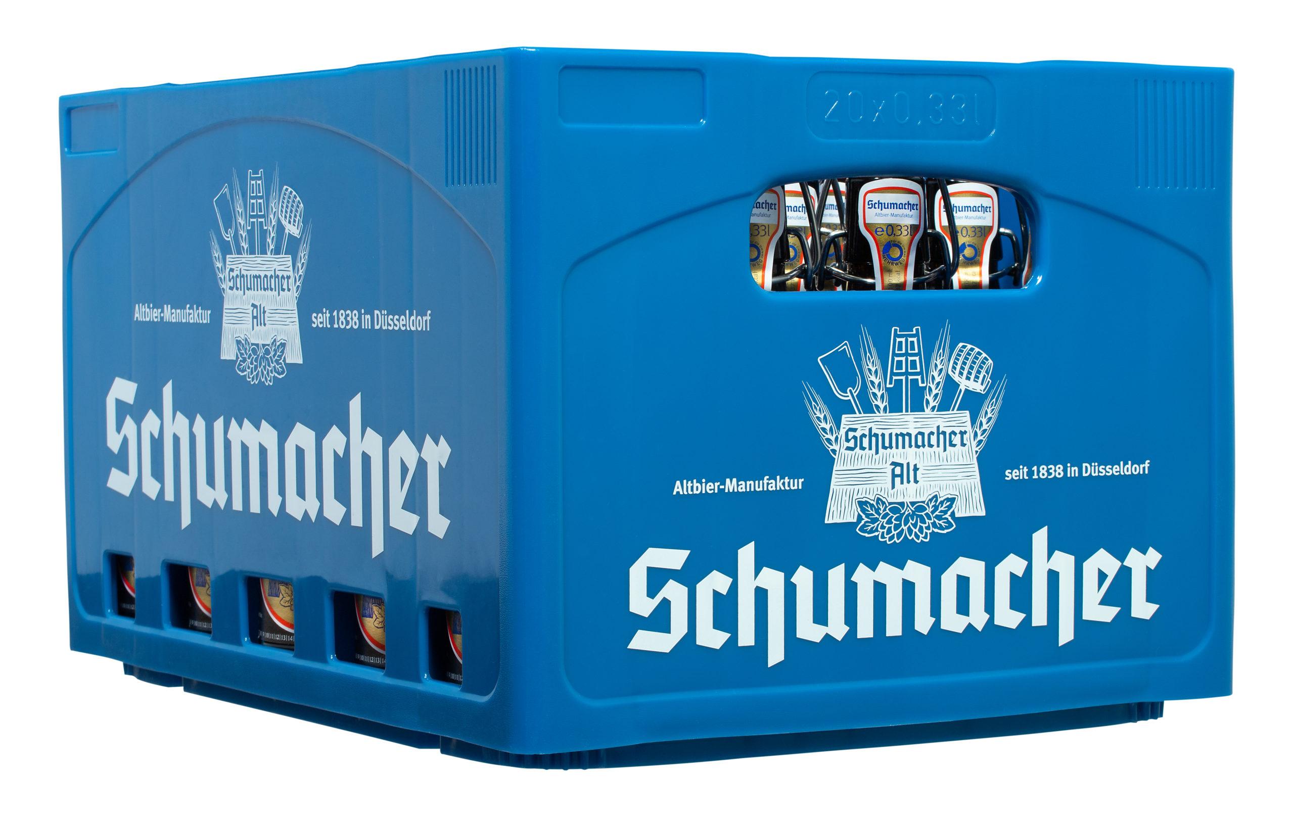 Schumacher Alt 20x0,33l Mehrweg Glas
