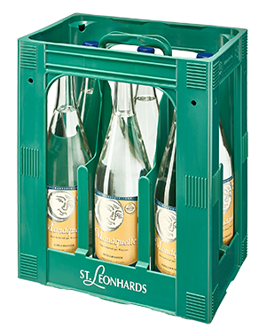 St. Leonard Vollmond 6x1,0l Mehrweg Glas