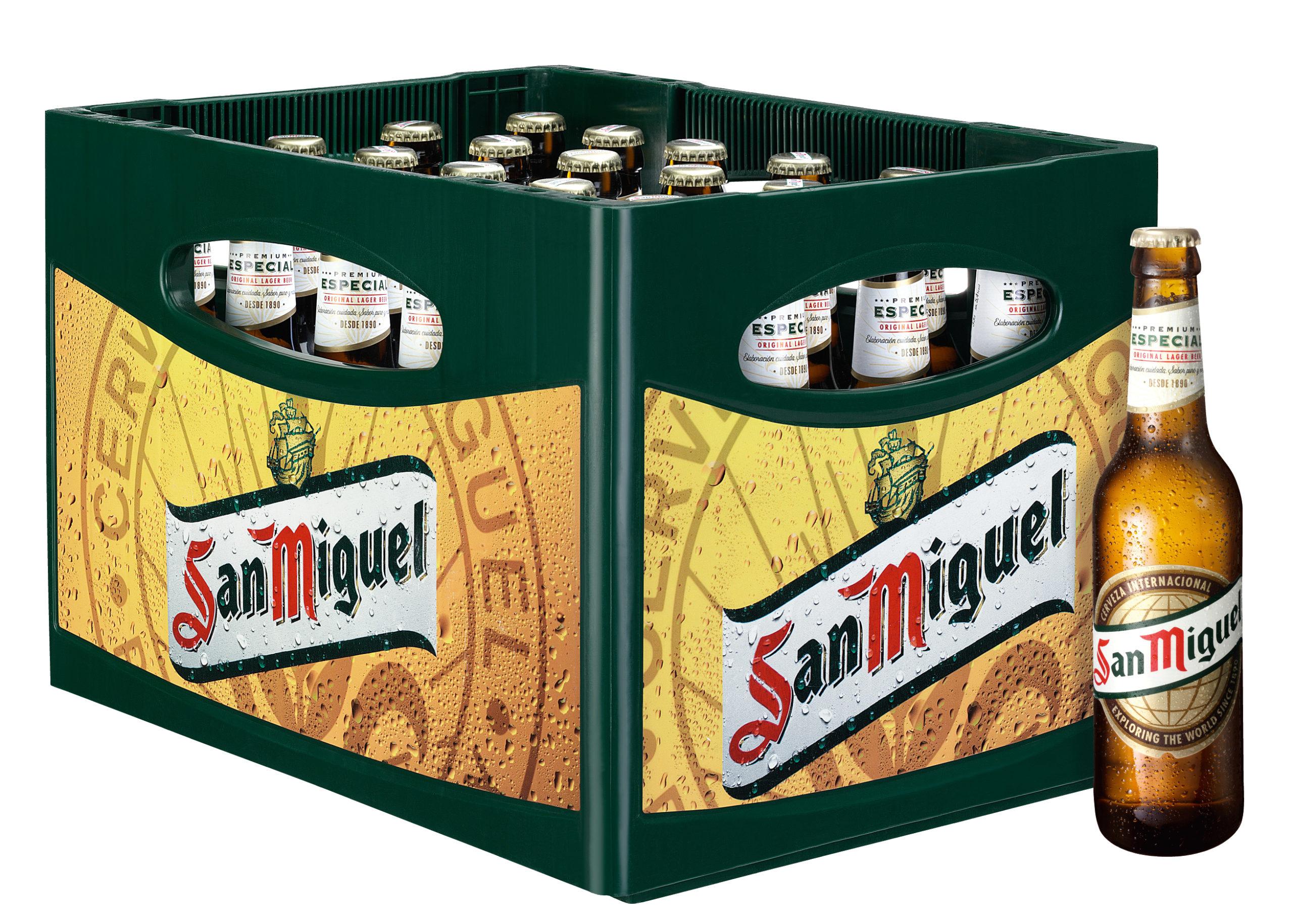 San Miguel 24x0,33l Mehrweg Glas