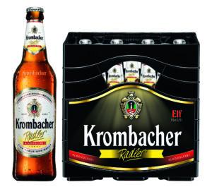 Krombacher Radler Alkoholfrei 11er 11x0,5l Mehrweg Glas