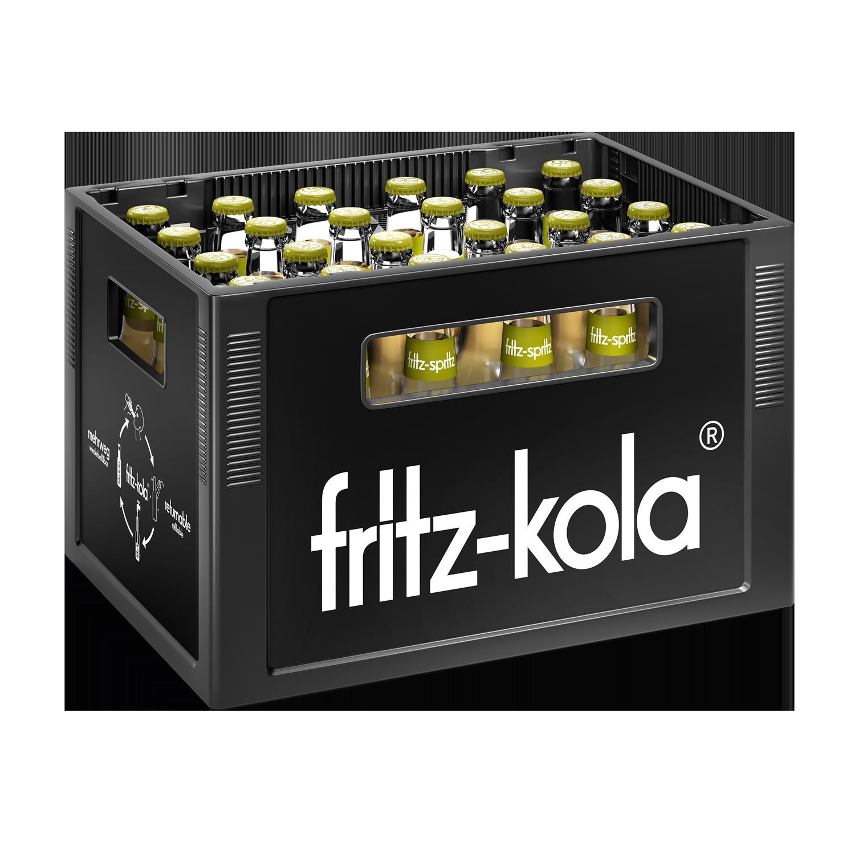 Fritz Spritz Bio Apfelschorle 24x0,33l Mehrweg Glas