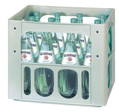 Gerolsteiner Medium 12x0,75l Gourmet Mehrweg Glas