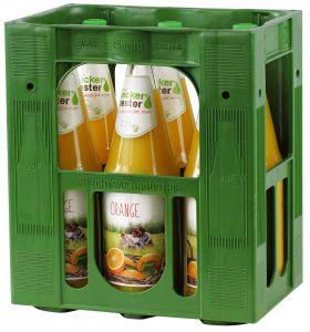 Beckers Orangensaft 6x1,0l Mehrweg Glas