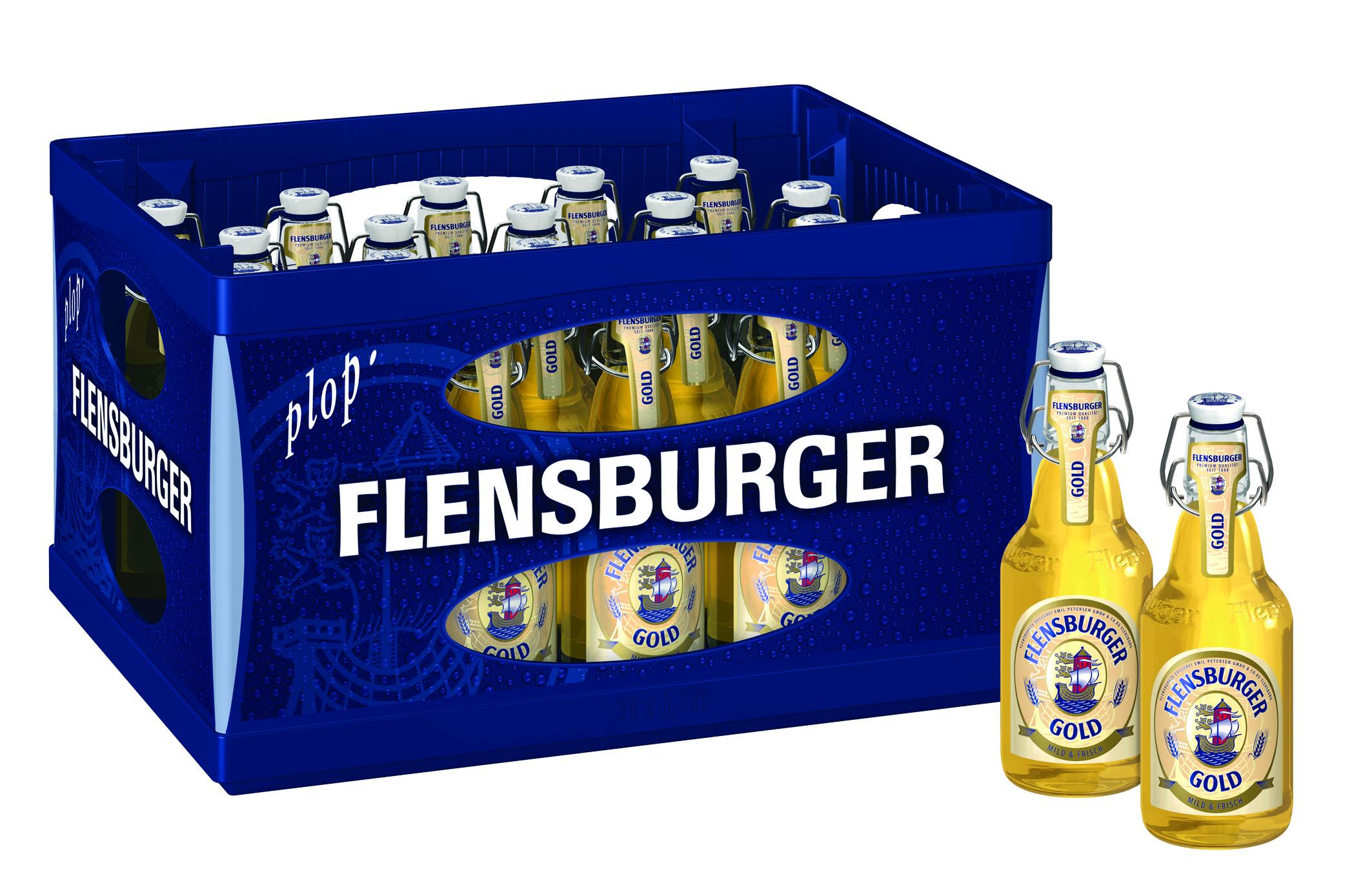 Flensburger Gold 20x0,33l Glas Mehrweg