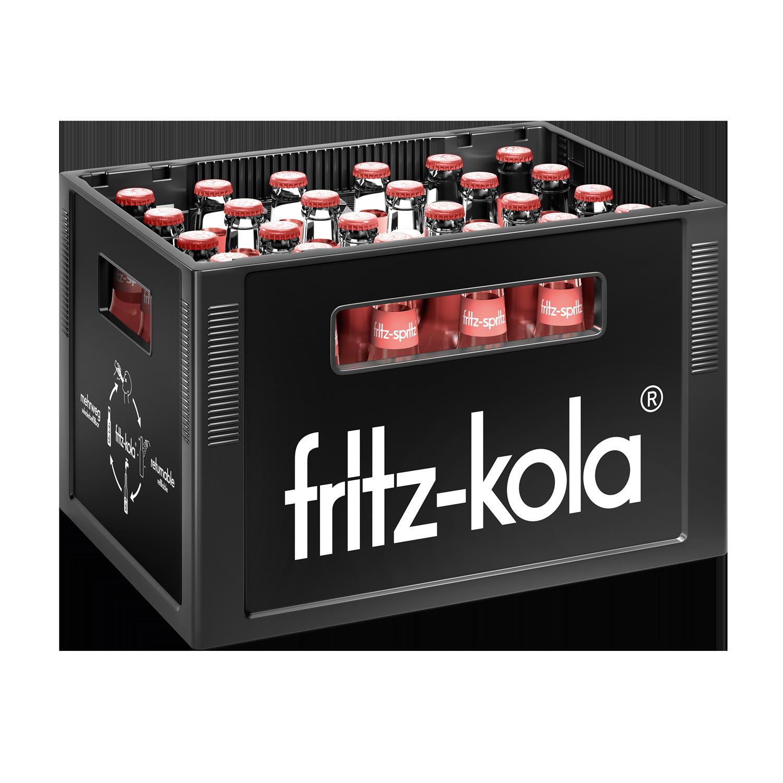 Fritz Spritz Bio Rhabarberschorle 24x0,33l Mehrweg Glas