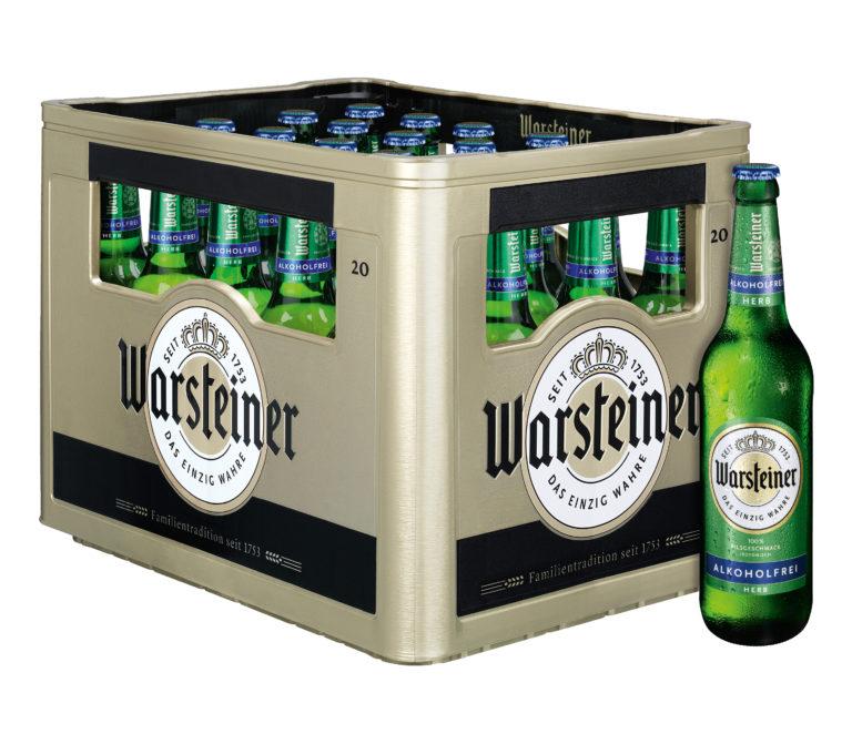 Warsteiner Herb Alkoholfrei 20x0,5l Mehrweg Glas