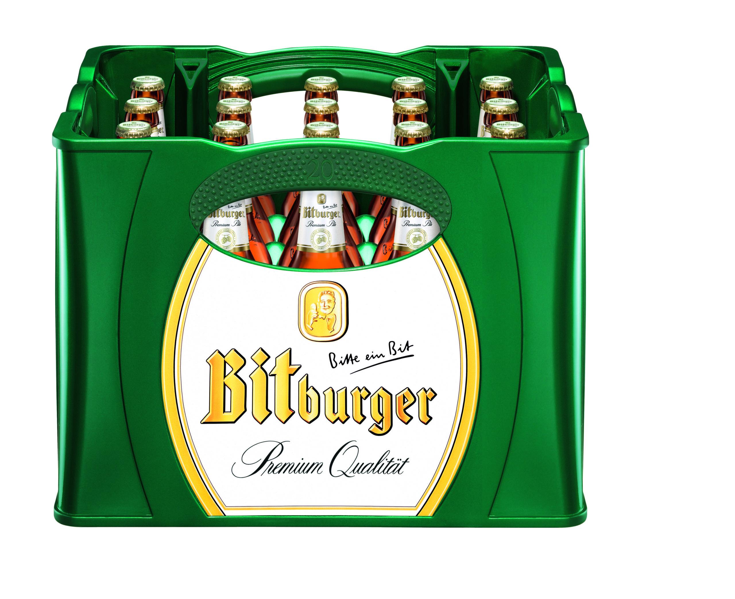 Bitburger Pils 20x0,5l Mehrweg Glas