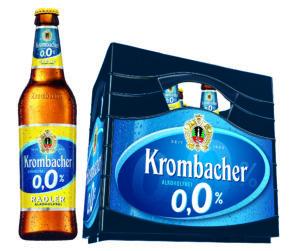 Krombacher Radler 0,0% 11er 11x0,5l Mehrweg Glas