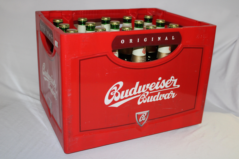 Budweiser 20x0,5l Mehrweg Glas