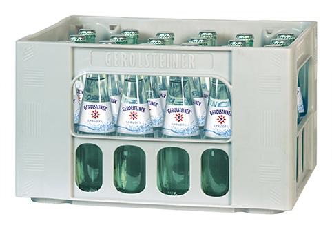 Gerolsteiner Sprudel 24x0,25l Gourmet Mehrweg Glas