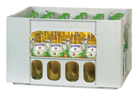 Gerolsteiner Apfelschorle 24x0,25l Gourmet Mehrweg Glas