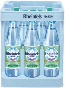 Rheinfels Medium 12x0,75l Mehrweg PET