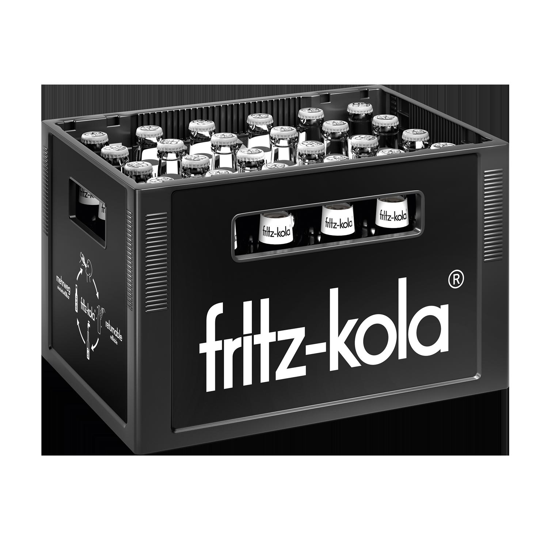 Fritz Kola ohne Zucker 24x0,33l Mehrweg Glas