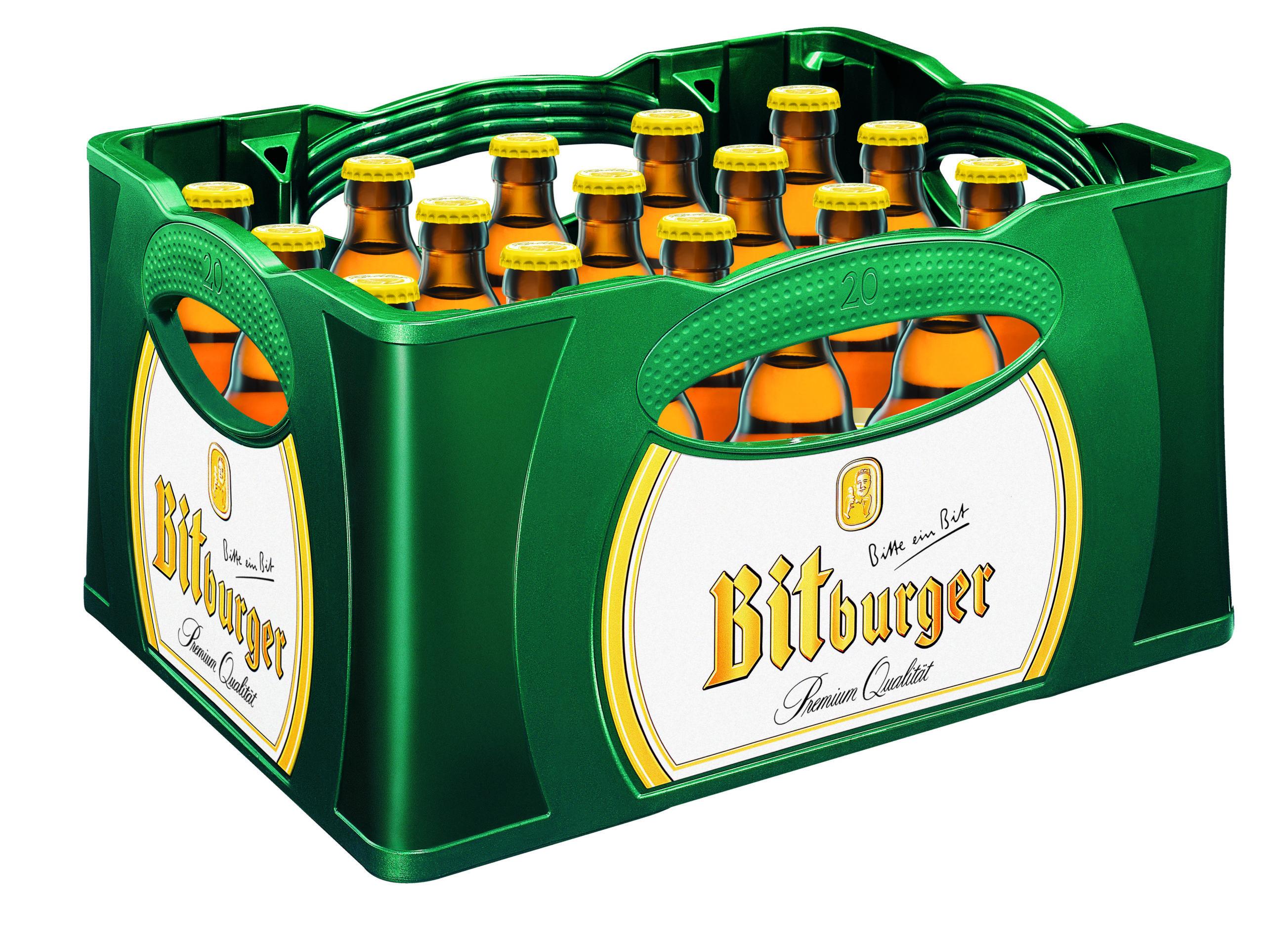 Bitburger Radler Stubbikasten 24x0,33l Mehrweg Glas