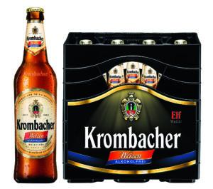 Krombacher Weizen Alkoholfrei 11er 11x0,5l Mehrweg Glas