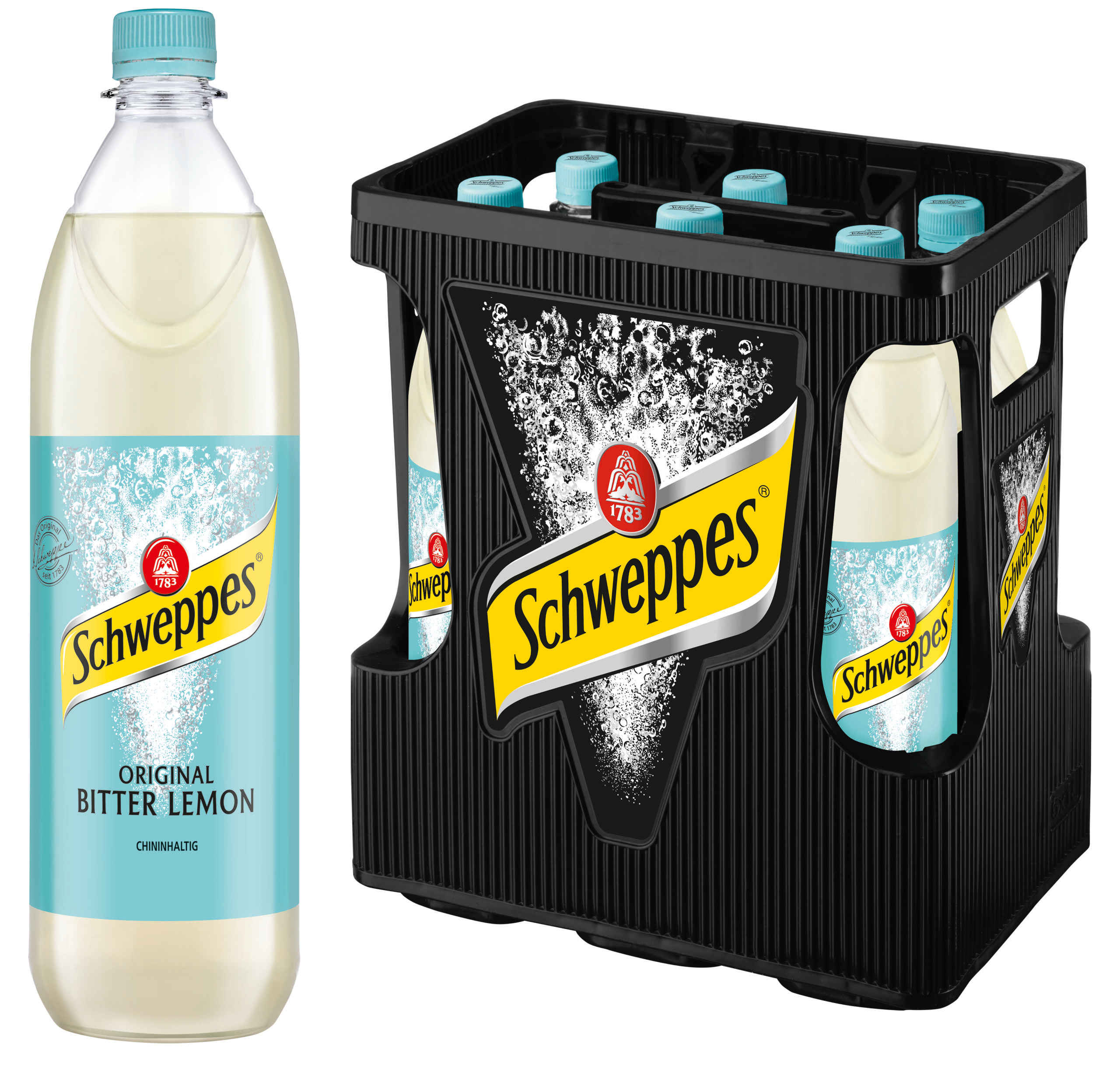 Schweppes Bitter Lemon 6x1,0l Mehrweg PET