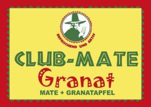 Club Mate 20x0,5l Granatapfel Mehrweg Glas