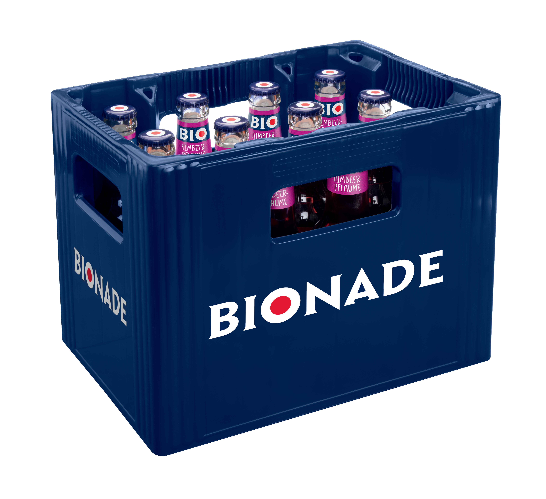 Bionade Himbeer-Pflaume 12x0,33l Mehrweg Glas