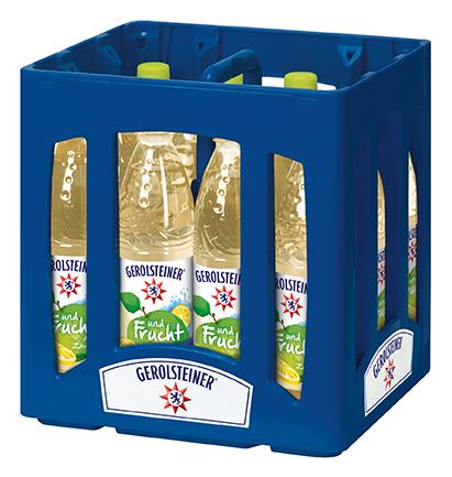 Gerolsteiner und Frucht Apfel Zitrone 12x0,75l Mehrweg PET