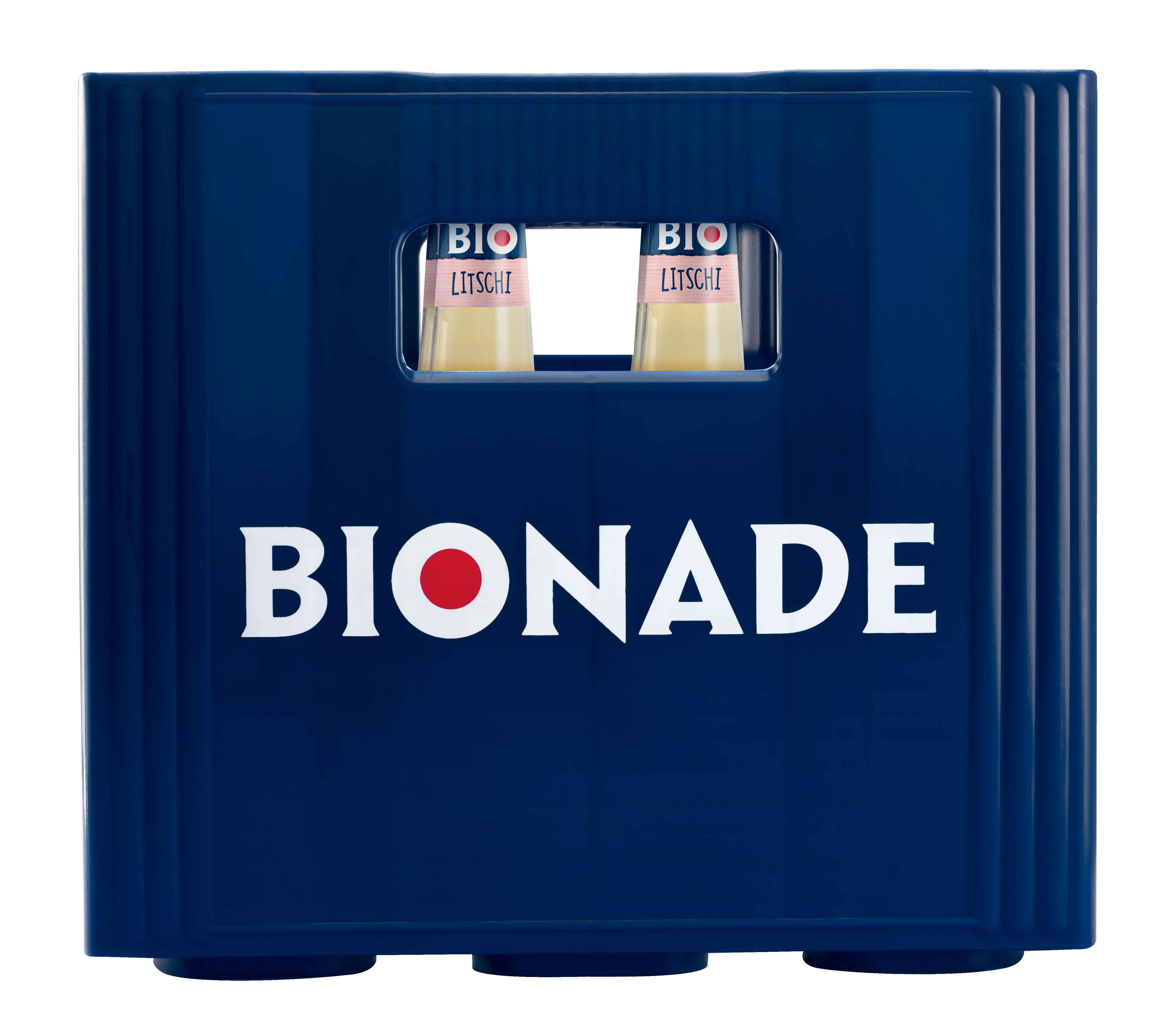 Bionade Litschi 12x0,33l Mehrweg Glas