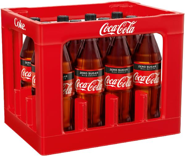 Coca Cola Zero 12x1l Mehrweg PET