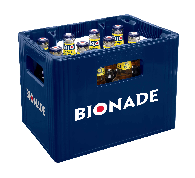 Bionade Zitrone Bergamotte 12x0,33l Mehrweg Glas