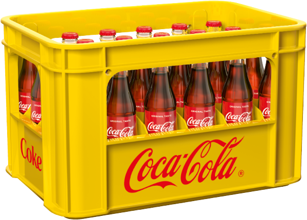 Coca Cola 24x0,33l Mehrweg Glas