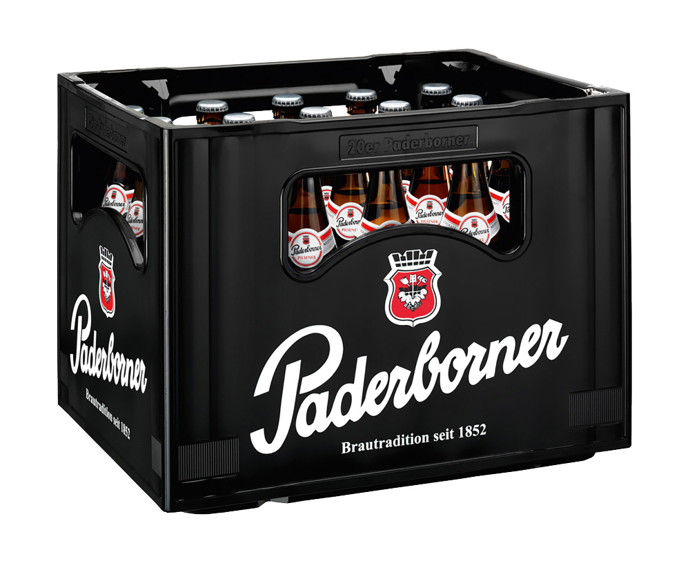 Paderborner Pilsener 20x0,5l Mehrweg Glas