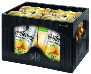 Schöfferhofer Weizen Zitrone 24x0,33l Mehrweg Glas