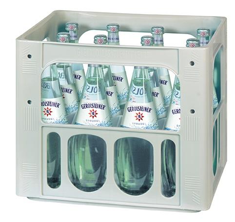 Gerolsteiner Sprudel 12x0,75l Gourmet Mehrweg Glas